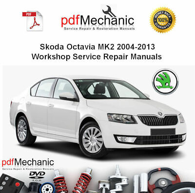 Haynes Workshop Manual Skoda Octavia 2004-2012 Service Repair 04 ...