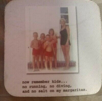 Mik Wright  now remember kids...no running, no diving,and no salt on my Remember Paper Plates