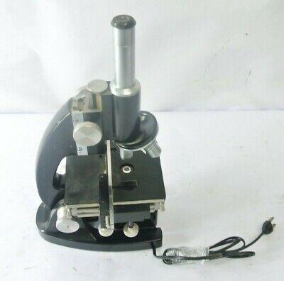 Bausch Lomb Monocular Microscope 10x 43x 97x