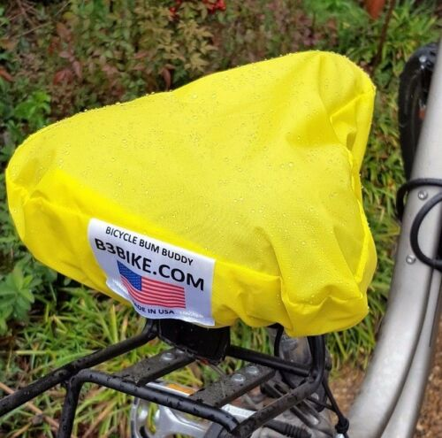 100% Waterproof Bicycle Seat Cover Highest Quality Made in USA Adjustable to Fit