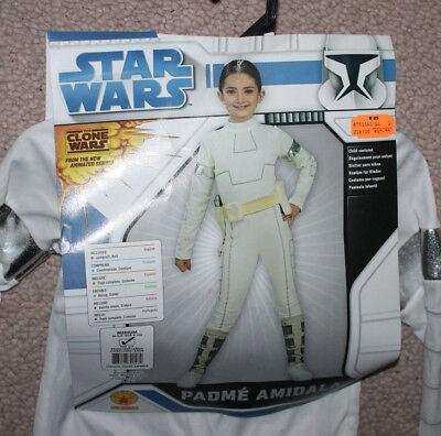 Star Wars Padme Amidala Kinder Kostüm Mittelgroße 8-10 Halloween