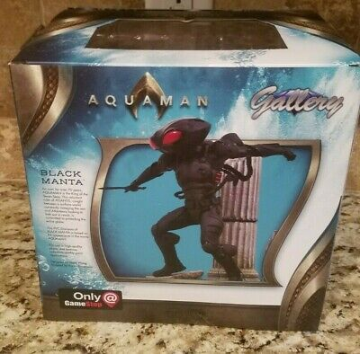 Diamond Gallery DC Aquaman - Black Manta GameStop Exclusive Statue Figure