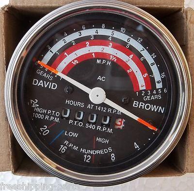 David Brown Tachometer Tractormeter 88599099599612101212 -k942232k942227