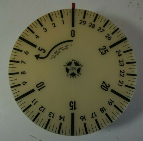 VTG American Family Scale Star D Photography Timer 32 Minutes No Batteries Requi