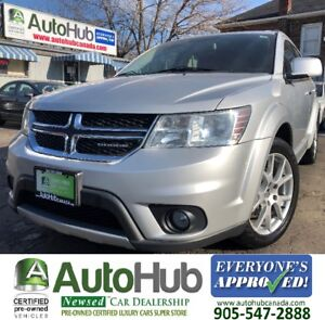 2011 Dodge Journey R/T-LEATHER-AWD-HEATED SEATS