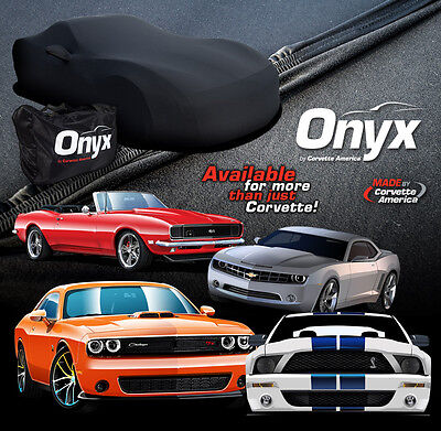 Mustang Onyx Car Cover 1965-1968 Coupe & Conv. Lycra Spandex Indoor Lightweight
