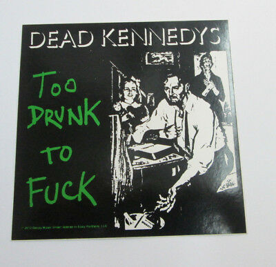 DEAD KENNEDYS STICKER COLLECTiBLE RARE  METAL LIVE DANZIG