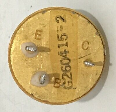 1ea Honeywell H10 To-61 All Gold Pnp Germanium Power Transistor 2n575