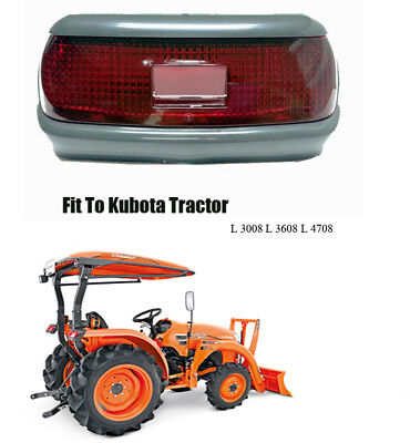Use For Kubota Tractor L 3008 L 3608 L 4708 Tail Lamps Tail Lights Assembly 1 Pc