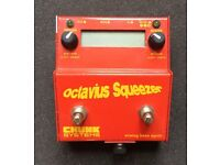 Chunk Systems Octavius Squeezer analogue bass synth pedal