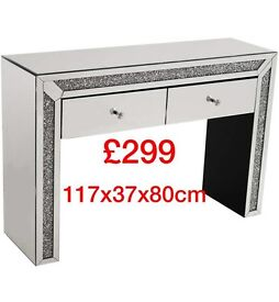Crystal Bling dressing tables- Cheapest in U.K.