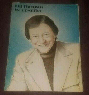 Bill Thomson in Concert songbook advanced organ music book 1980