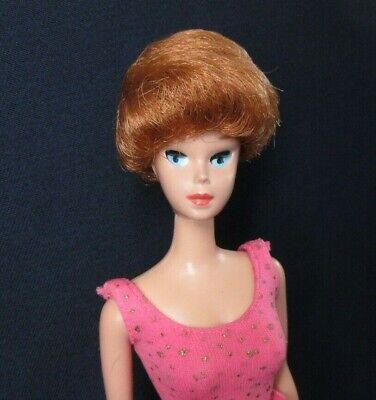 Vintage MISS BARBIE Doll #1060 Sleep Eye Bend Leg + Swimsuit