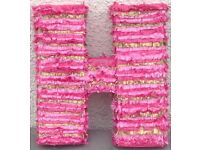 Party letter pinata ... made to order any colour 3sizes