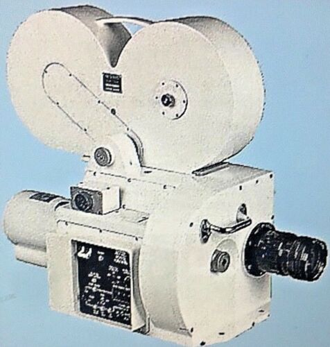 Photosonics 10A 70mm High Speed Motion Picture Military Camera RARE!
