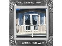 HILL VIEW: PRESTHAVEN BEACH RESORT, PRESTATYN, N.WALES: SLEEPS 7 MAX, NO PETS