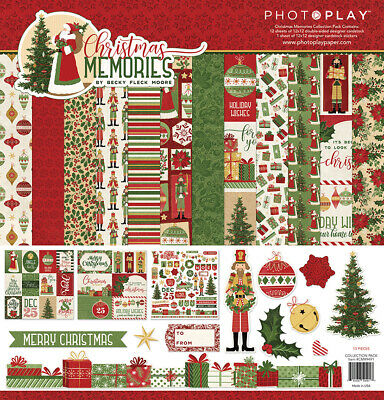 Scrapbooking Crafts PP 12X12 Paper Pack Christmas Memories Nutcracker Santa Tree](Paper Christmas Crafts)
