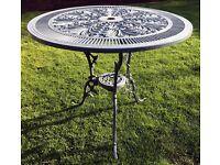Garden Furniture - Heavy Metal Table