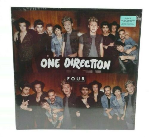 """One Direction Four Double LP Vinyl Sealed New Syco Columbia 12"""" 88843-06710-10"""