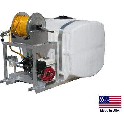 Sprayer Commercial - Skid Mounted - 15 Gpm - 350 Psi - 5.5 Hp - 200 Gallon Tank
