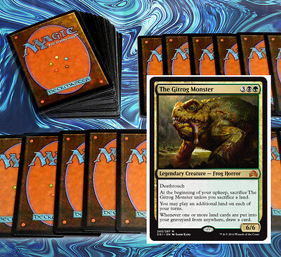mtg GREEN BLACK DELIRIUM DECK Magic the Gathering rare cards SOI