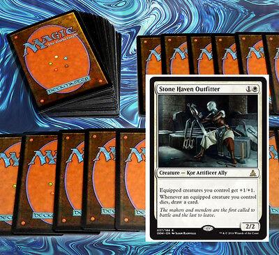 mtg WHITE KOR EQUIPMENT DECK Magic the Gathering rare cards