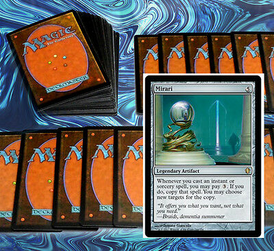 mtg BLUE RED SCRY DECK Magic the Gathering rare cards