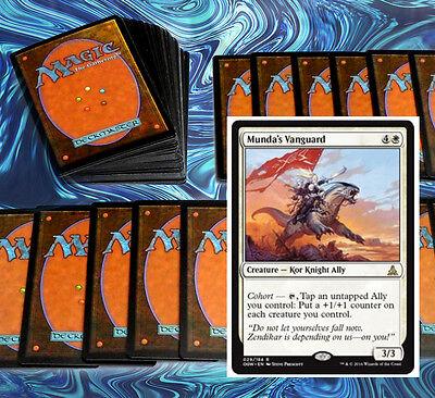 mtg WHITE KOR ALLIES DECK Magic the Gathering rare cards