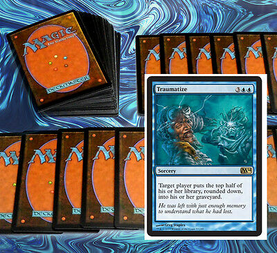 mtg BLUE MILL DECK Magic the Gathering rare cards traumatize aetherspouts