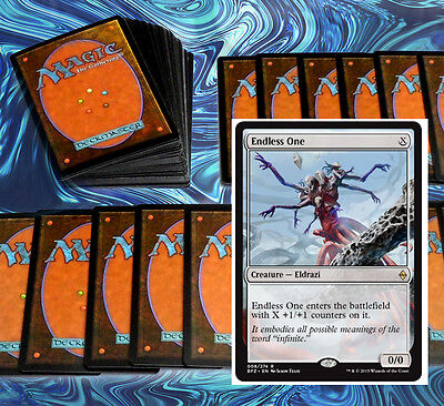 mtg RED COLORLESS MATTERS DECK Magic the Gathering rare cards