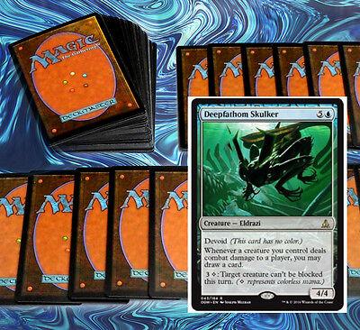 mtg BLUE DEVOID ELDRAZI DECK Magic the Gathering rare cards
