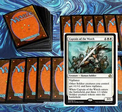 mtg WHITE WEENIE DECK Magic the Gathering rare cards avacyn
