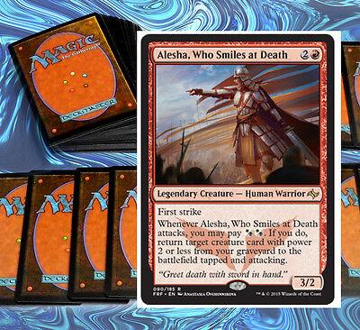 mtg RED BLACK WHITE MARDU DECK Magic the Gathering rare cards