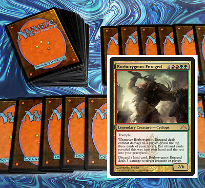 mtg RED GREEN GRUUL DECK Magic the Gathering rare cards