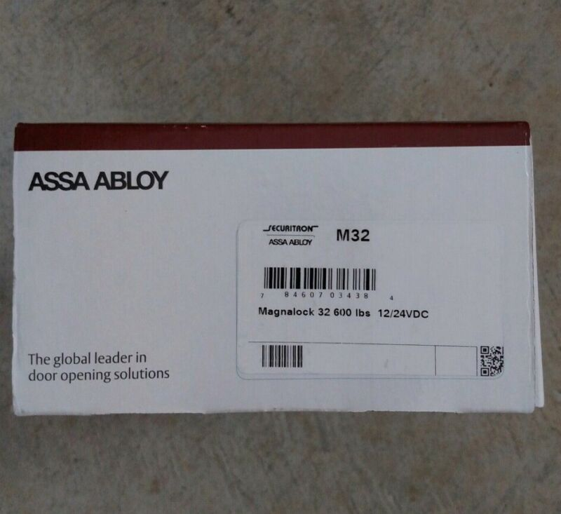Securitron ASSA ABLOY Magnalock M32 600 lbs. Holding Force
