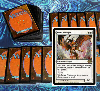 mtg WHITE AIR FORCE DECK Magic the Gathering rare cards angels