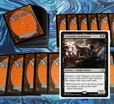 mtg BLACK RED VAMPIRE MADNESS DECK Magic the Gathering rare cards SOI