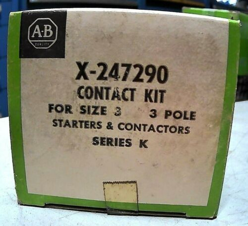 AB ROCKWELL X-247290 CONTACT KIT SER K (STARTERS & CONTACTORS) 3P SZ3 *FREE SHIP