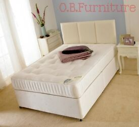 NEW Orthopeadic Beds Mattresses King Single Double free delivery BARGAINS
