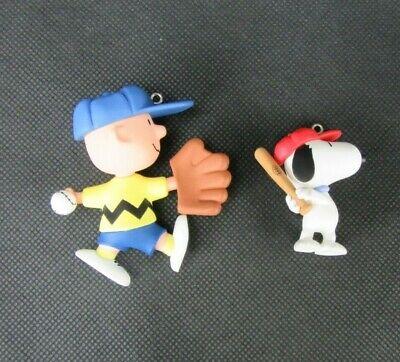 Vintage Christmas Ornaments, Hallmark Keepsake, Peanuts, Charlie Brown, Snoopy ()