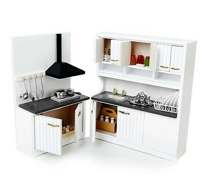 Doll house kitchen set 1:12 scale