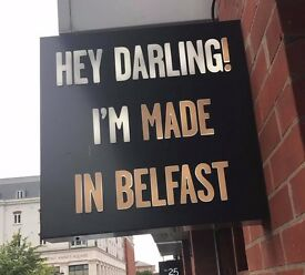 HEAD CHEF - MADE IN BELFAST