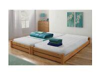 Stakka Bed Frames ex Argos still in packaging (no mattresses)