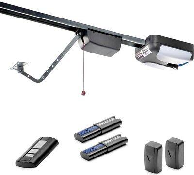Direct Drive 3/4 HP Garage Door Opener Quiet Home Link Remot
