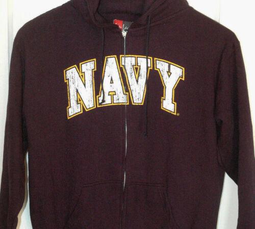New UNITED STATES NAVY SWEATSHIRT Hooded HOODIE With Tags NWT U.S Naval Military