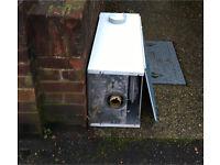 Free scrap metal - old combo boiler