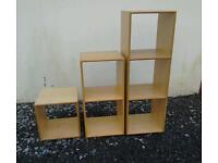 Shelving units suit small shop bedroom etc