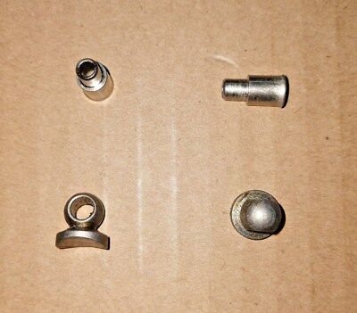 Campagnolo Ferrules 619//620 Step Down//Spindled Nickel//Brass Housing Ends NOS NIP