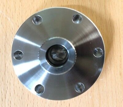 New 2.75 Conflat Flange To 0.5 Tube Od Quick Coupling Uhv Stainless Steel