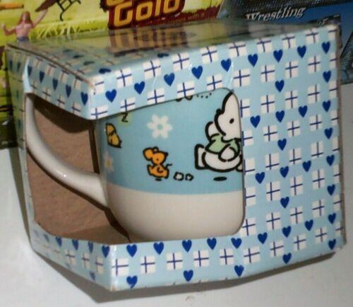 Vintage 1997 Sanrio POCHACCO ceramic mug cup new in box